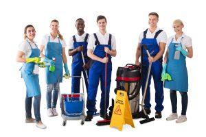 Mauss-Service Reinigungsteam Gebäudereinigung