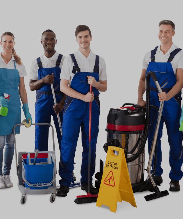 Team Mauss alles sauber mit einem lächeln