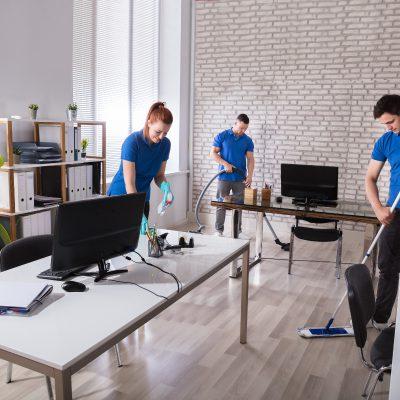 Team mauss-service bei der Arbeit
