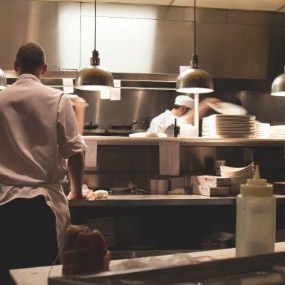 Saubere Großküche
