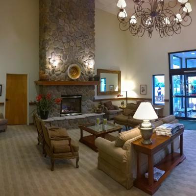 Hotellobby und Eingangsbereich
